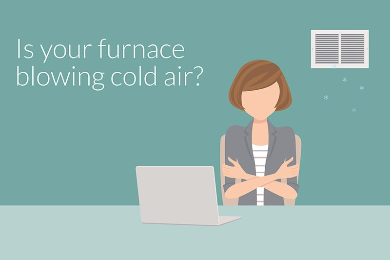 video - why is my furnace blowing cold air?