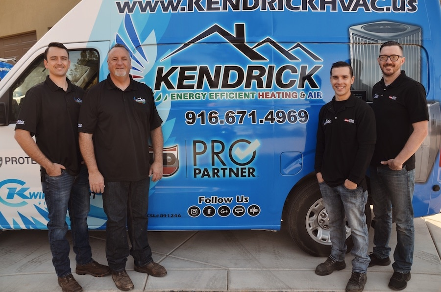 Kendrick team photo.